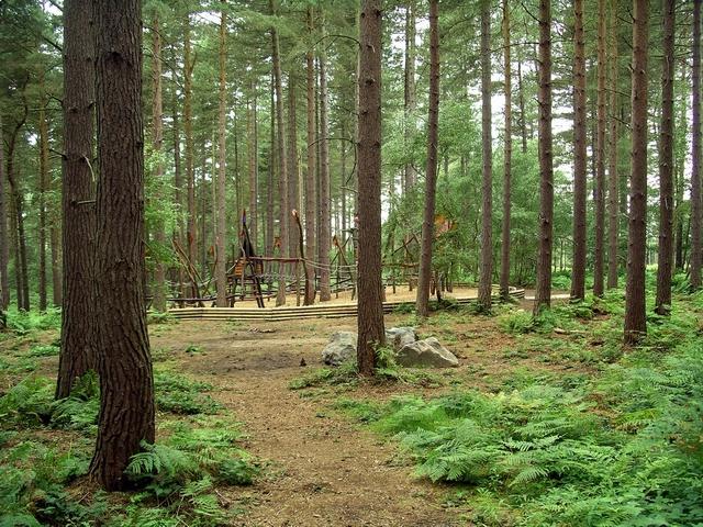 Adventure playground, Sherwood Pines