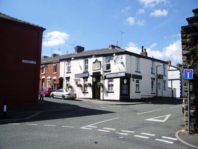"""Stanley Arms"", Campbell Street, Blackburn"