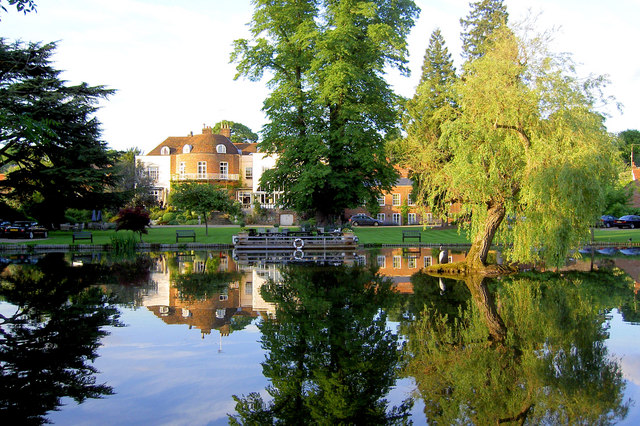 St Michaels Manor Hotel grounds.