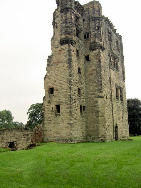 Ashby Castle keep.