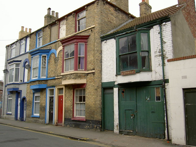 Fishermen's cottages Bridlington.