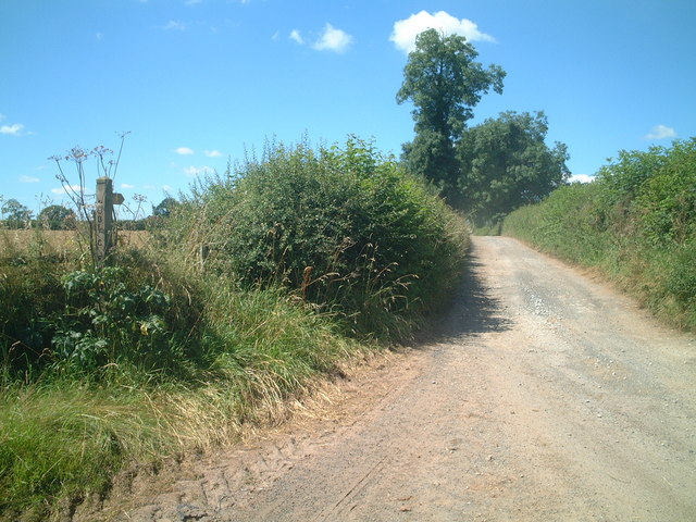 Road to Moorbrook Farm