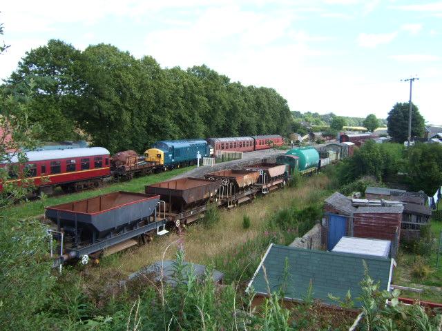 Caledonian Railway outdoor exhibits