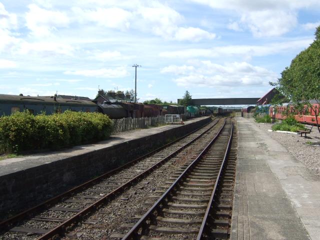 Caledonian Railway and road bridge