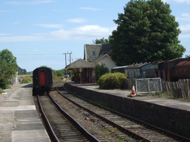 Railway terminus