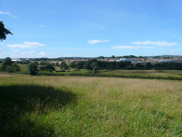 Danesmoor - View towards Coney Green Development