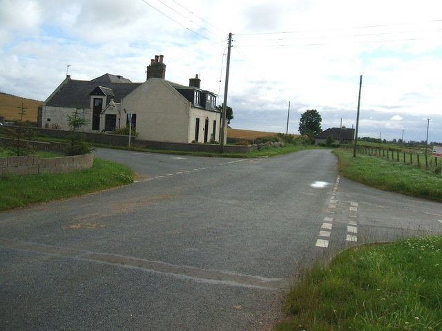 Crossroads near Backfolds