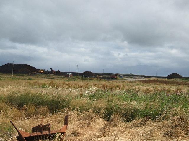 St Fergus Moss Peat Workings