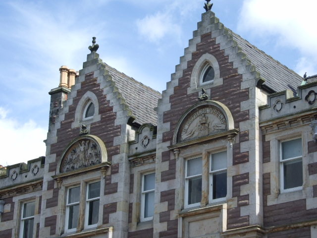 Tell-tale gables in Montrose High Street