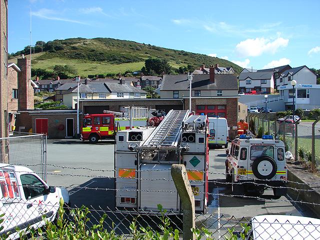 Aberystwyth Fire Station