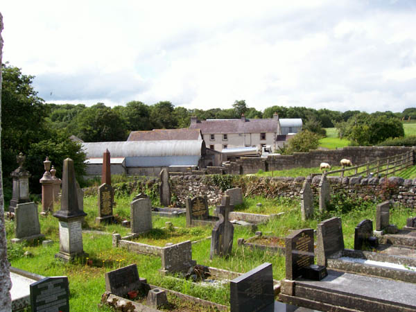 Burial ground and farm