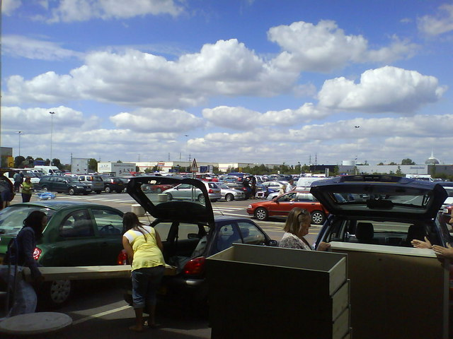 Loading Area and Car Park, Ikea Thurrock