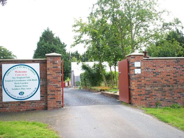 Entrance To The Secret Garden Eden P Flannagan