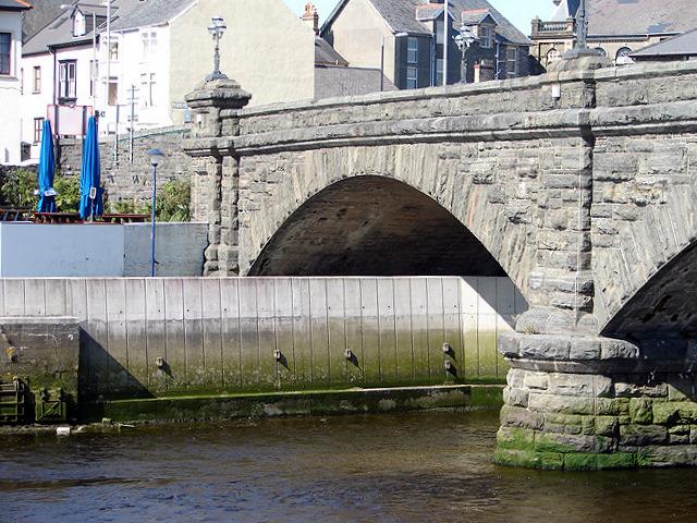 Aberystwyth Flood Defences