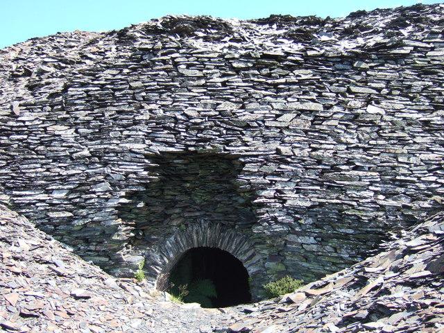 Rosebush quarry, exploring the adits: 6