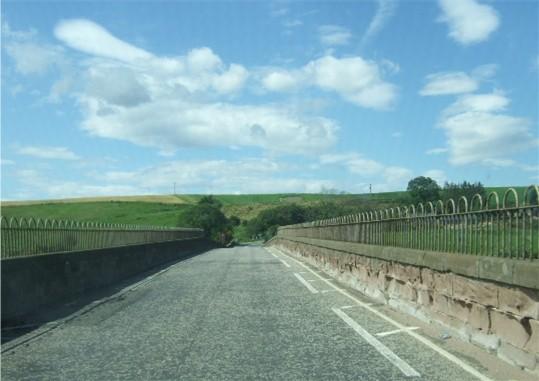 A92 over the North Esk road bridge.