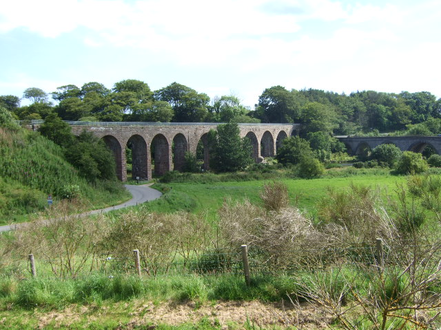 Bridges over the North Esk near Kinnaber