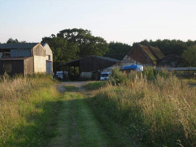 Winspurs Farm from the Northrepps footpath