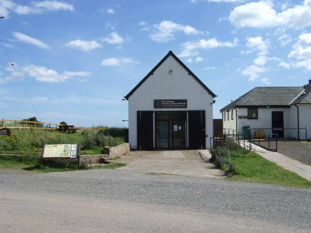 St Cyrus NNR Visitor's Centre