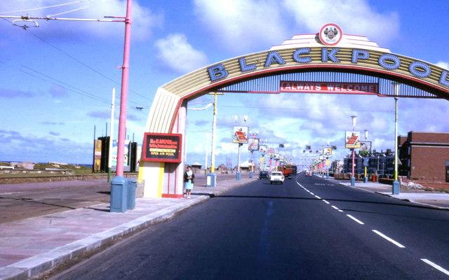 Starting point of Blackpool Illuminations