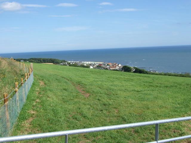 View towards Johnshaven