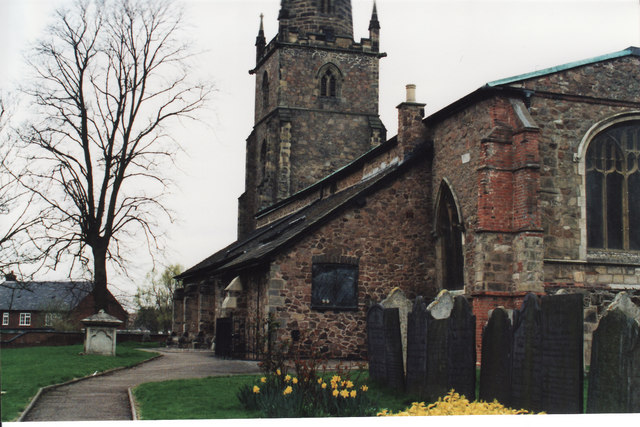 South side of St. Peter's Church, Whetstone