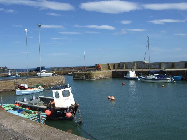 Inner harbour, Johnshaven