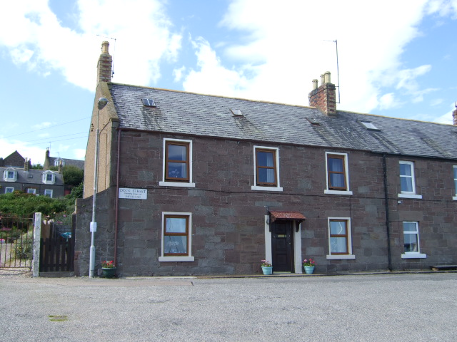 A house in Dock Street