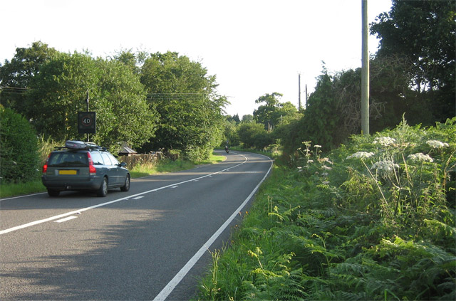 40 warning lights approaching Roughton