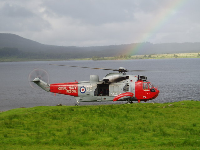 Rescue landing at Craignell.