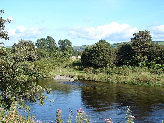 Afon Rheidol, Aberystwyth