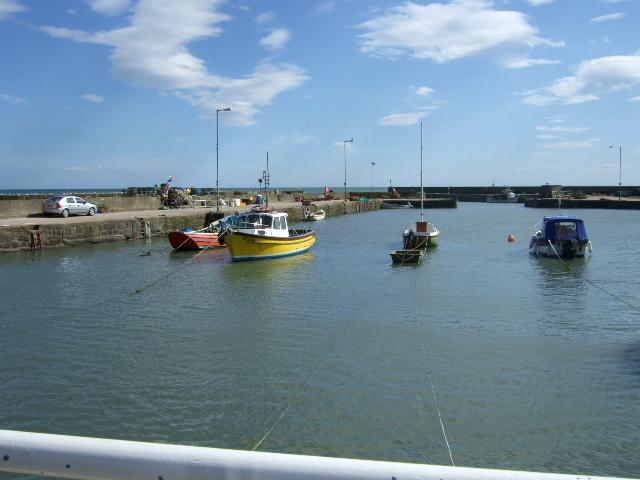 Gourdon harbour