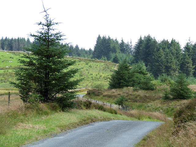 Mountain Road to Llanddewi-Brefi, Ceredigion