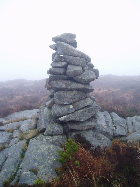 Cairn on the West top of Fell of Fleet.