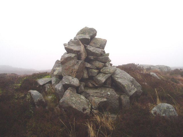 Cairn on Fell of Fleet.