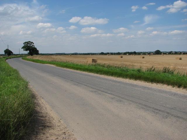 Farmland near Saxthorpe