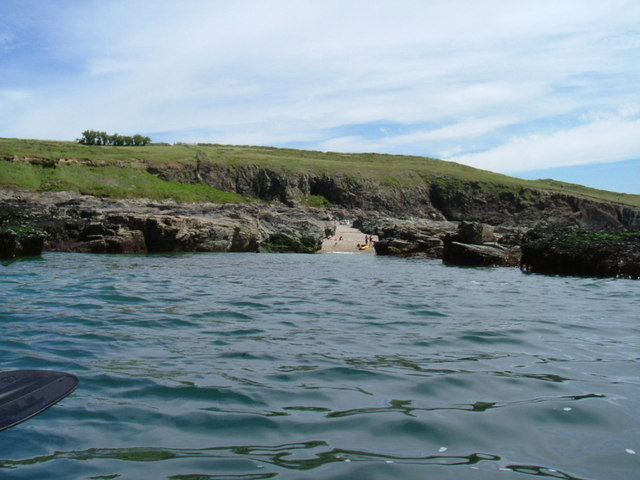 Cowrie Bay from Canoe