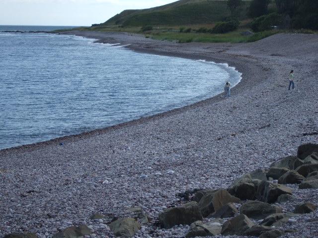 Shore of Bervie Bay