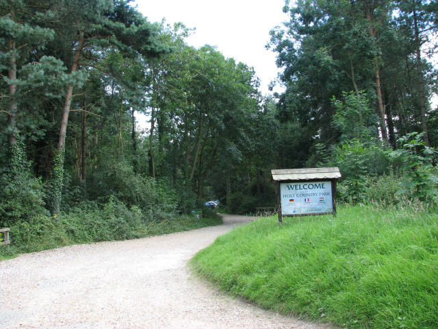 Entrance to Holt Country Park