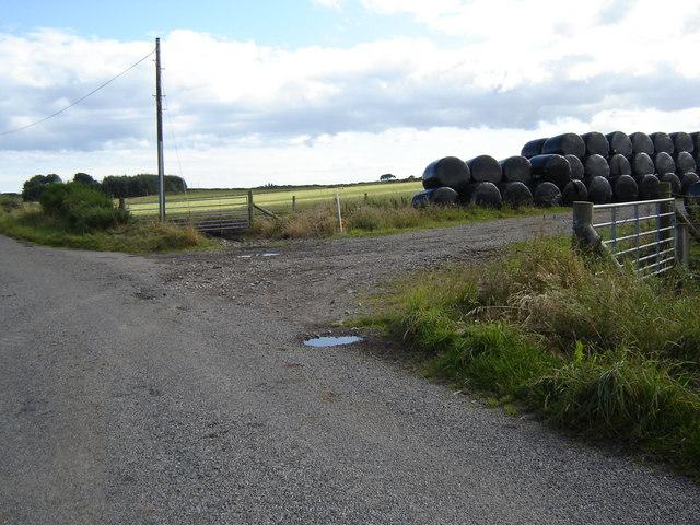 Entrance to an old farm