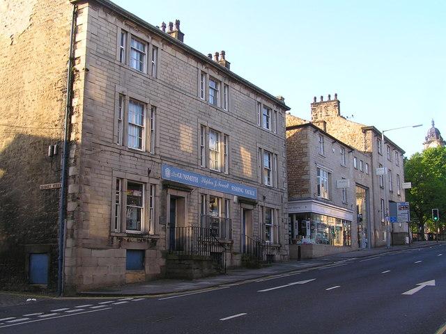Lancaster Great St John's street, Bridget street corner