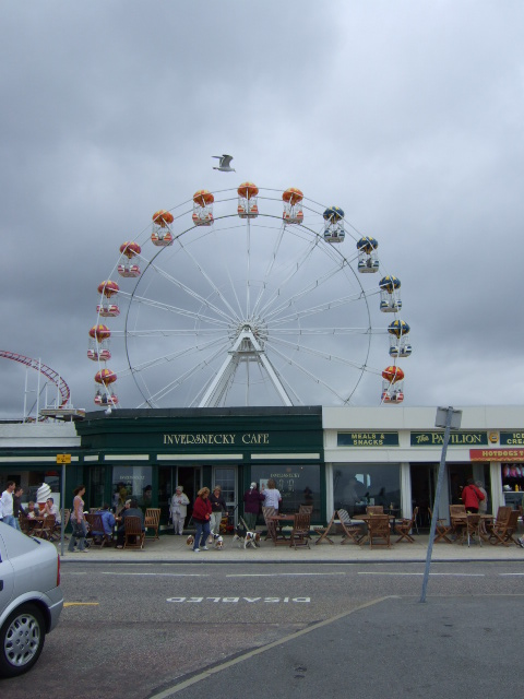 Big Wheel at Aberdeen Beach