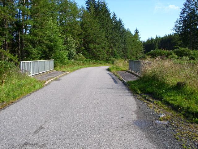 The High Mill Burn Bridge