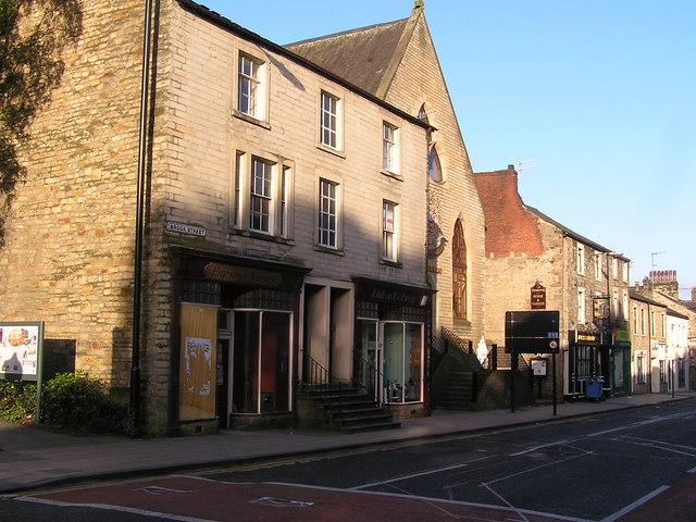 Lancaster Brock Street Thurnham Street corner