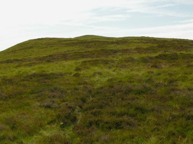 The east ridge of Foel Fadian
