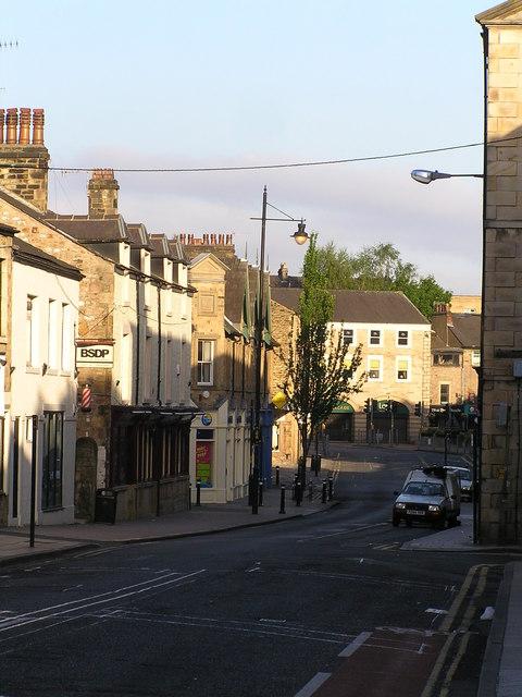 Lancaster looking west along Brock Street