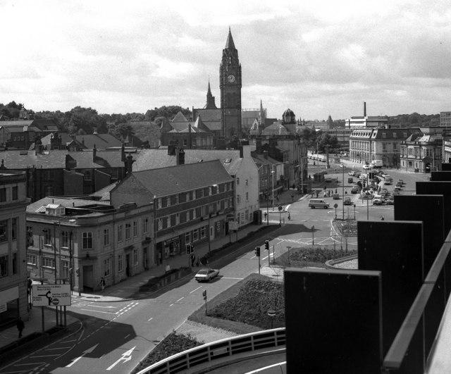 Towards the Town Centre, Rochdale, Lancashire