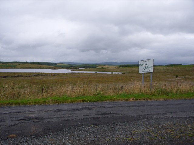 The Border into Dumfries&Galloway