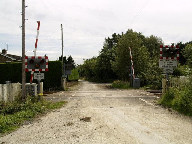 Ganton Railway Crossing