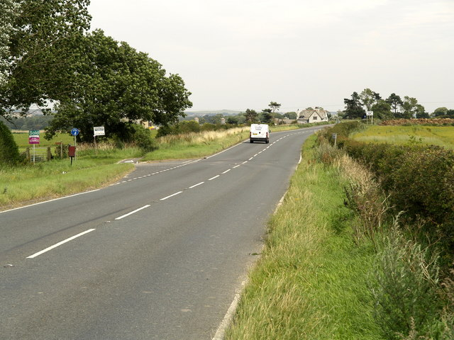 The A64(T) looking eastwards